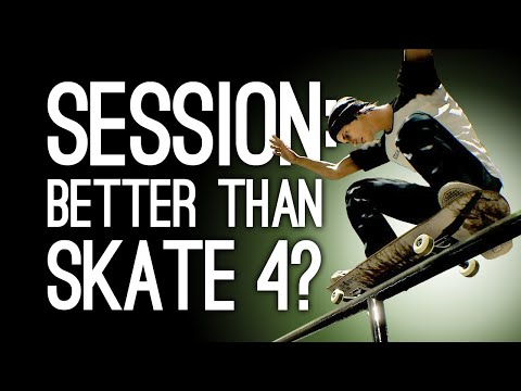 Session Skateboarding Gameplay: Better Than Skate 4? (Let's Play Session on Xbox One)