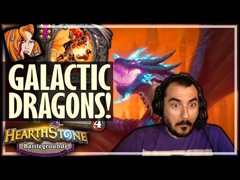 I HIT GALACTIC RNG DRAGONS - Hearthstone Battlegrounds