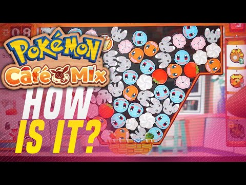 HOW IS Pokémon Café Mix on Nintendo Switch Handheld!? (Pokemon Free To Play)