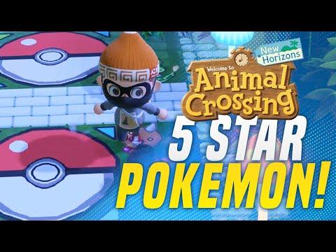 POKEMON ISLAND in Animal Crossing New Horizons 5 Star Island Tour! (Animal Crossing Tips)