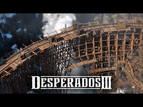Desperados 3 - Mission 6: The Bridge at Eagle Falls (Desperado, No Save)