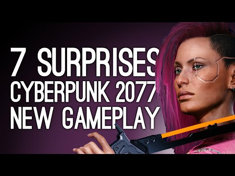 New Cyberpunk 2077 Gameplay: 7 Surprises We Weren't Expecting