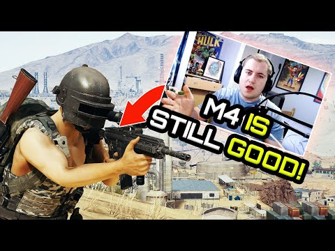 the M416 is still GOOD! PUBG Xbox one / PS4 Gameplay