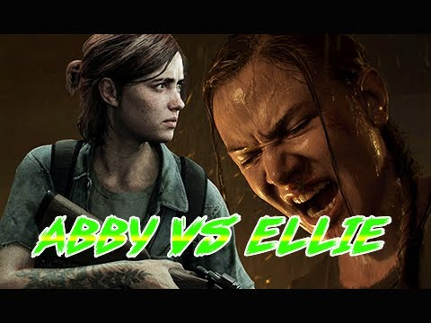 ABBY VS. ELLIE - All Scenes in The Last of Us Part 2 (4K PS4 Pro Gameplay)