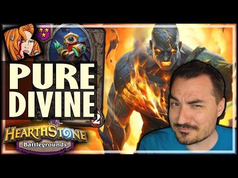 THE PURE DIVINE BUILD! - Hearthstone Battlegrounds