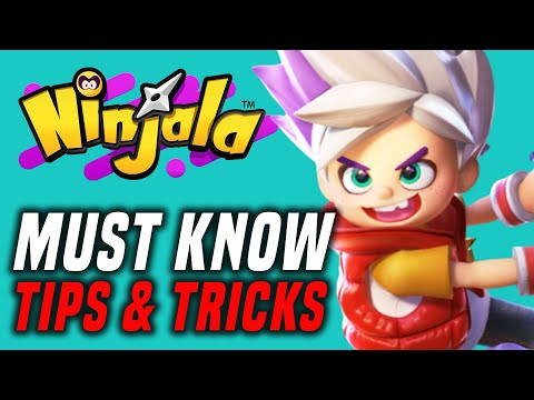 Ninjala How To Play WITH FRIENDS...And More Tips and Tricks! (Nintendo Switch Online Multiplayer)