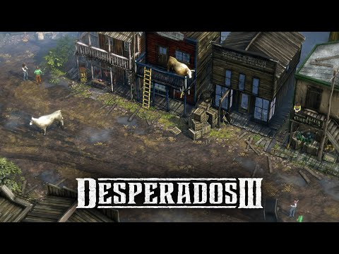 Desperados 3 - Mission 8: One Hell Of A Night (Desperado, No Save)