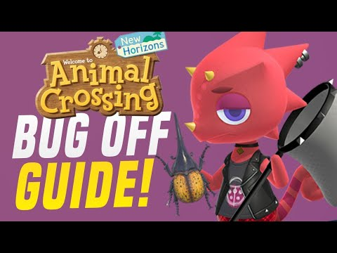How To WIN The Animal Crossing Bug Off in New Horizons! (Animal Crossing Tips)