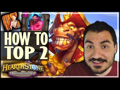 HOW TO TOP 2 WITH DEMONS! - Hearthstone Battlegrounds