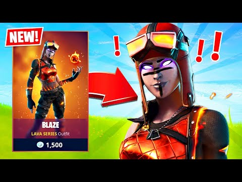 New BLAZE RENEGADE RAIDER!! Winning in Solos! (Fortnite Season 3)