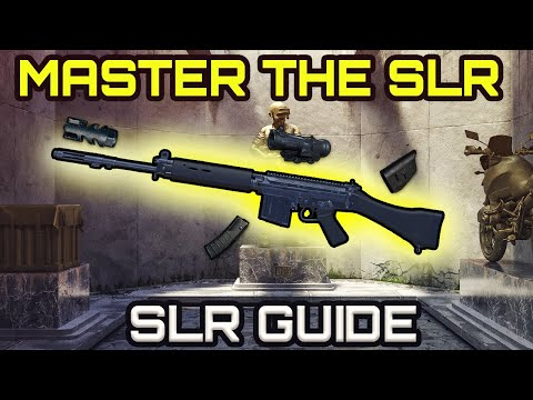 HOW to MASTER the SLR like a PRO on PUBG XBOX ONE / PS4