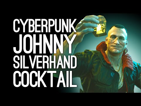 Cyberpunk 2077 Cocktail: We Make a Johnny Silverhand (Cyberpunk Cocktail Recipe)