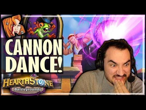 THE DIVINE CANNON DANCE! - Hearthstone Battlegrounds