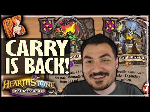 THE CARRY IS BACK! - Hearthstone Battlegrounds