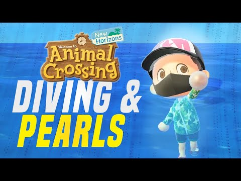 HOW To Get Pearls FAST in Animal Crossing New Horizons 1.3 Update! (New Horizon Tips)