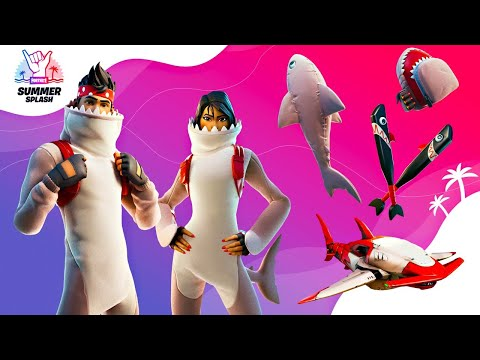 New LEGENDARY SHARKS in Fortnite Item Shop! (Season 3)
