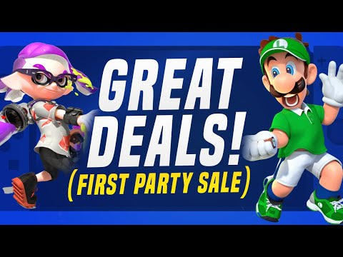 HUGE Nintendo Switch Games on Sale RIGHT NOW! (First Party Sales and eShop Deals!)