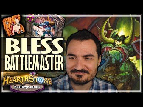 BLESS THE BATTLEMASTER! - Hearthstone Battlegrounds