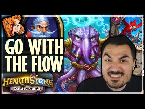 MILLHOUSE = GO WITH THE FLOW - Hearthstone Battlegrounds