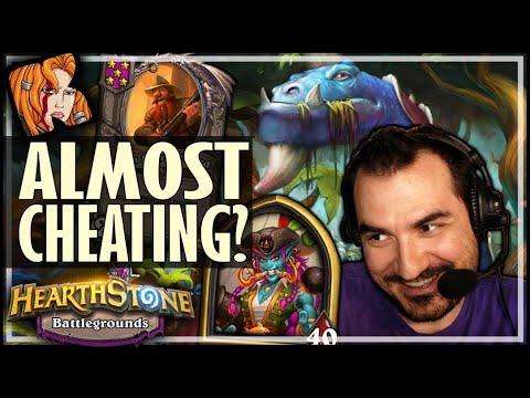 HOOKTUSK IS CHEATING?! - Hearthstone Battlegrounds