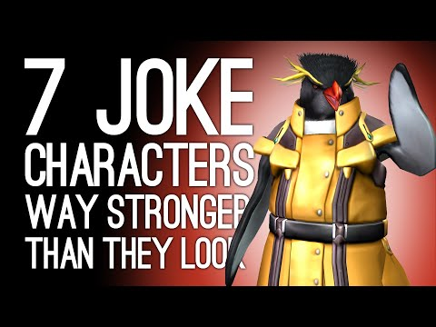 7 Fighting Game Joke Characters Who Are WAY Stronger Than They Look