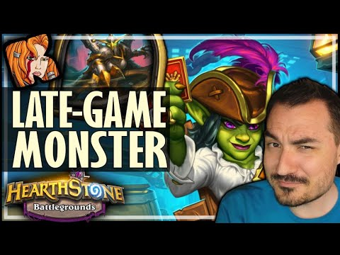 MAIEV IS A LATE-GAME MONSTER! - Hearthstone Battlegrounds