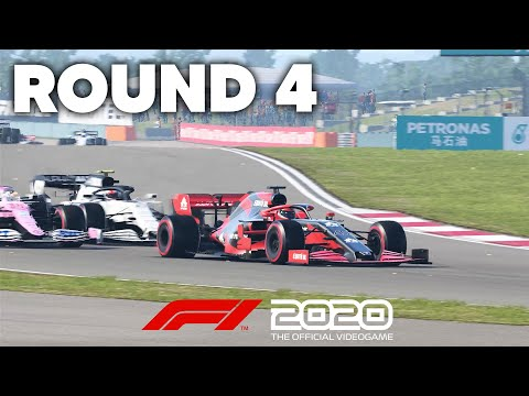 F1 2020 MY TEAM CAREER MODE Gameplay Walkthrough - ROUND 4 - NEW RIVAL