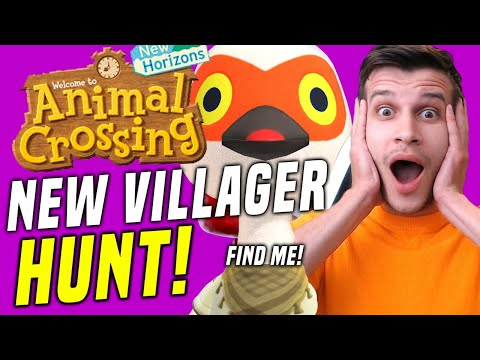 EPIC VILLAGER HUNTING! Animal Crossing New Features and New Villager! (New Horizons Tips!)