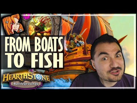 FROM BOATS TO FISH! - Hearthstone Battlegrounds
