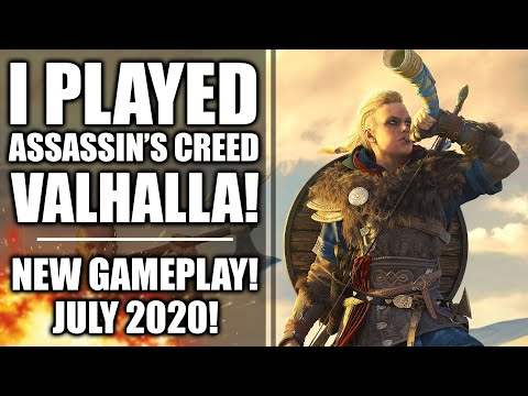 I Played Assassin's Creed Valhalla - New Gameplay!  Raids, Weapons and Free Roaming Open World!