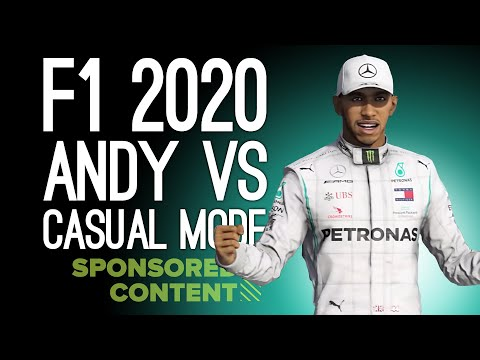 F1 2020: Mike's Driving School! Andy vs New Casual Mode Gameplay 🏎(Sponsored Content)