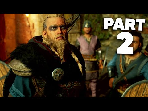 ASSASSIN'S CREED VALHALLA Early Gameplay Walkthrough Part 2 - CASTLE RAID