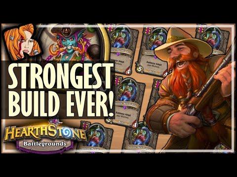MY STRONGEST BUILD EVER?! - Hearthstone Battlegrounds