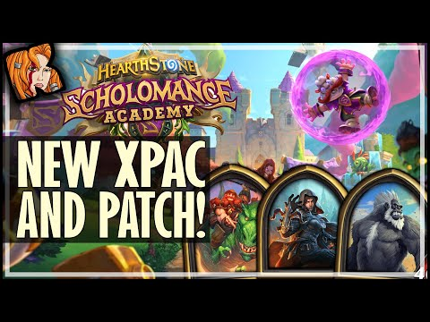NEW XPAC + NEW PATCH - SCHOLOMANCE ACADEMY - HEARTHSTONE