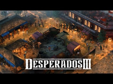 Desperados 3 - Mission 10: Back Alley Jazz (Desperado, No Save)