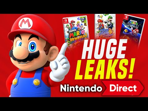Nintendo Direct July 20th AND Mario 3D Remasters VERY LIKELY via Leaks!? (Switch Rumors)