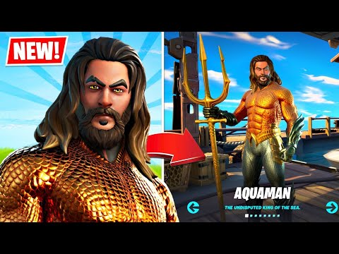 New AQUAMAN in Fortnite! (Season 3)