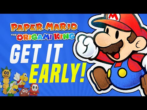 HOW To Get PAPER MARIO The Origami King EARLY and LEGALLY Right NOW!