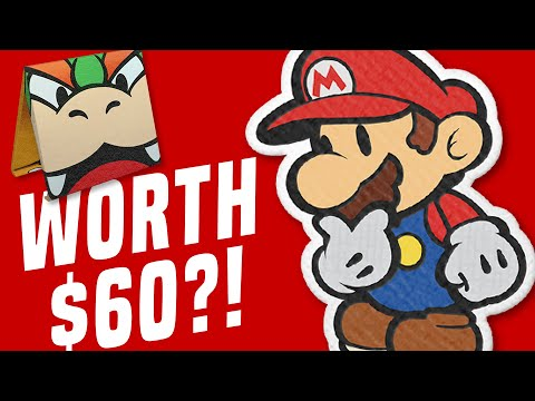 Is It WORTH $60?! Paper Mario The Origami King GOOD/BAD/FUN?! (Switch Review and Gameplay)