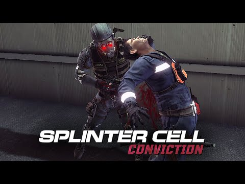 Splinter Cell Conviction Aggressive Stealth - Lumber Mill (Realistic, No Mark and Execute)