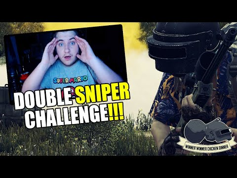 INSANE DOUBLE SNIPER GAME! PUBG Xbox / PS4 Gameplay