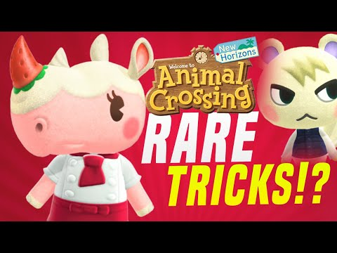 ALL TRICKS for RARE VILLAGERS in Animal Crossing! Do They Work!? (New Horizons Tips + Villager Hunt)