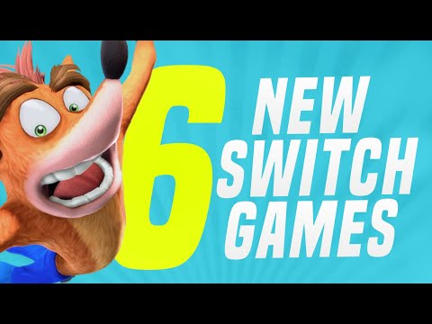 6 NEW Switch Games + 1 RUMOR JUST Announced Coming to Nintendo eShop! (Switch Update Releases)