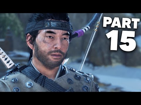Ghost of Tsushima Gameplay Walkthrough Part 15 - GHOST ARMOUR (PS4 Pro 4K)