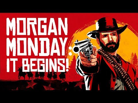 Red Dead Redemption 2 Stream: MORGAN MONDAYS BEGIN! Ep. 1 of ?