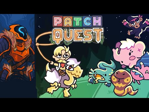 An Adorable Roguelite Where You Can Ride Every Monster Into Battle! - Patch Quest [Alpha]