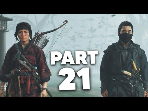 Ghost of Tsushima  Gameplay Walkthrough Part 21 - YUNA FULL TALE  (PS4 Pro 4K)