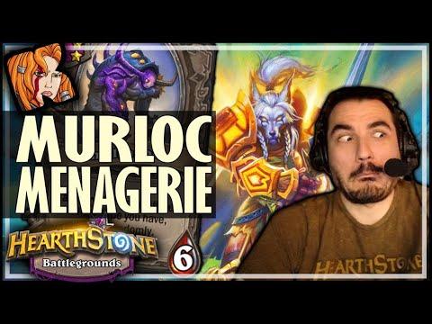YOU MUST TRY MURLOC MENAGERIE! - Hearthstone Battlegrounds