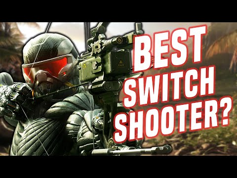 Crysis Remastered Switch: How Does it Run? + Handheld Mode - Best Shooter Yet?!