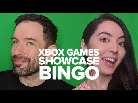 Xbox Games Showcase: Xbox Series X Gameplay Reveal BINGO!
